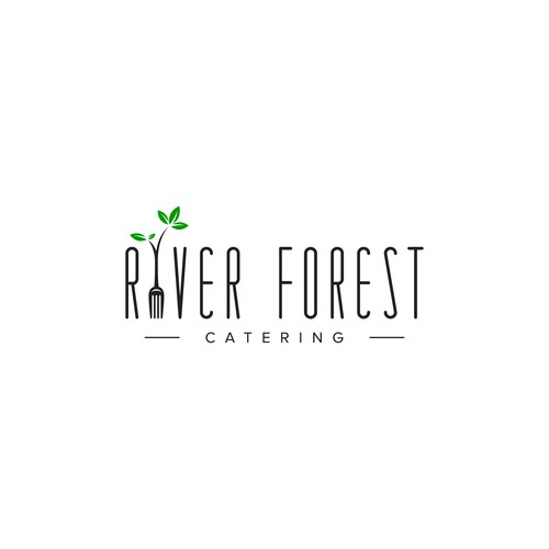 Modern logo for a wonderful catering business