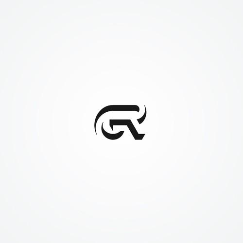 GR monogram logo for Genuine Reality