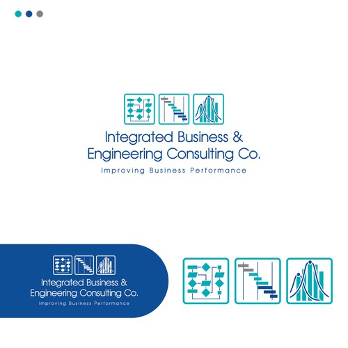 Design Logo Integrated Business Engineering Consulting Co.