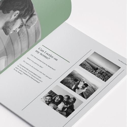 The Atticus Group - Bi-fold Brochure Design
