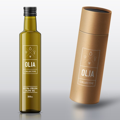 Logo for olive oil company