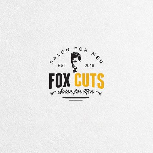 Logo Design For FoxCuts Barbershop