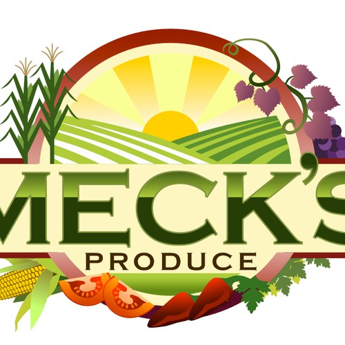 Help Meck's Produce stay Fresh with a new logo