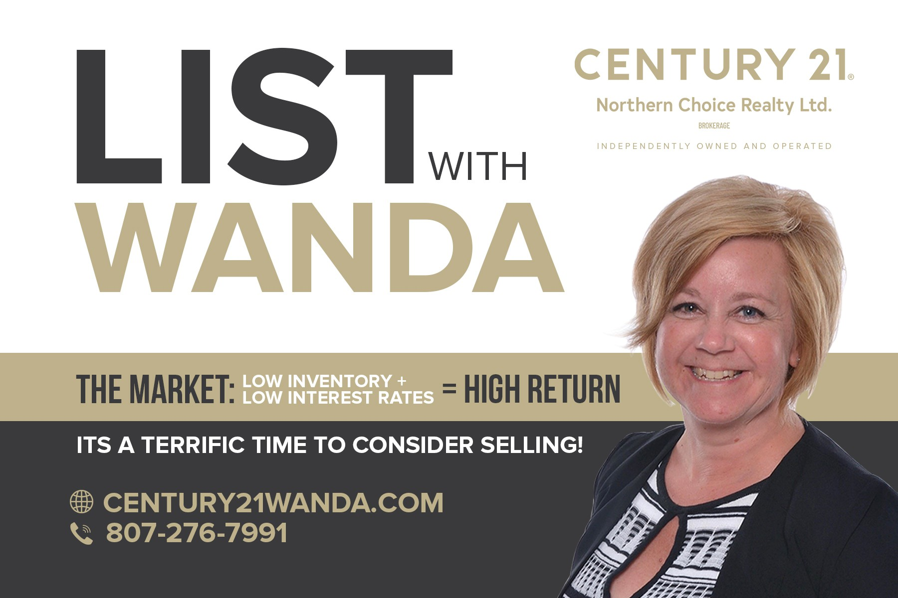 Post Card for Realtor-LISTING Campaign