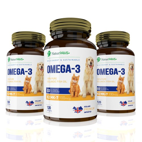 Omega 3 Pats Supplement