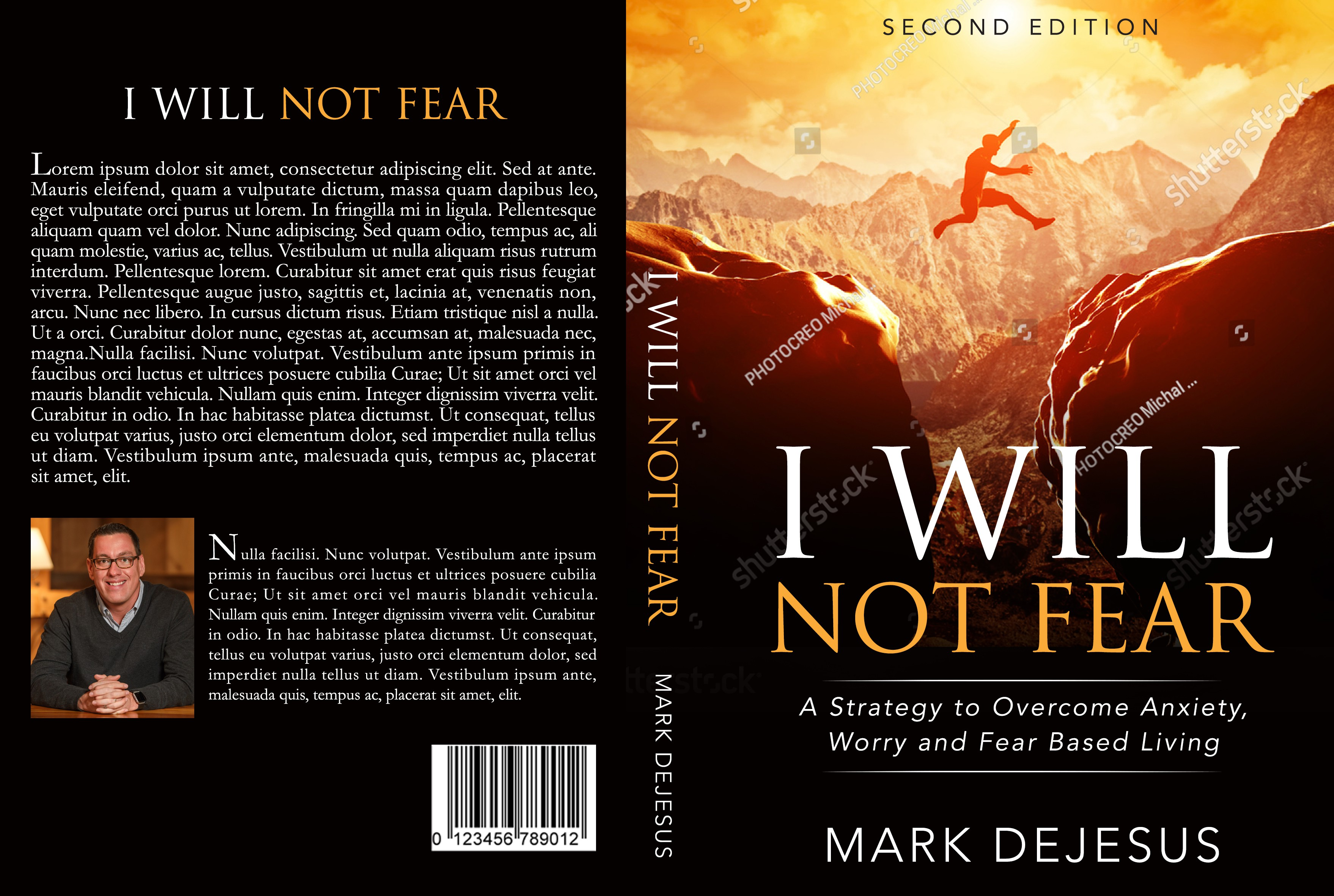 Help Me Design a Cover That Will Help People Overcome Fear and Live Confidently