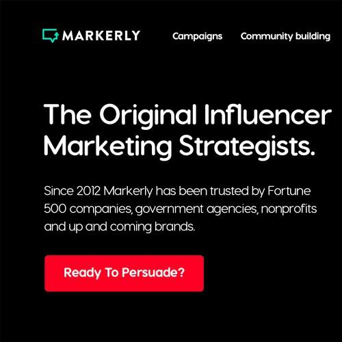 Influencer Marketing Company Site