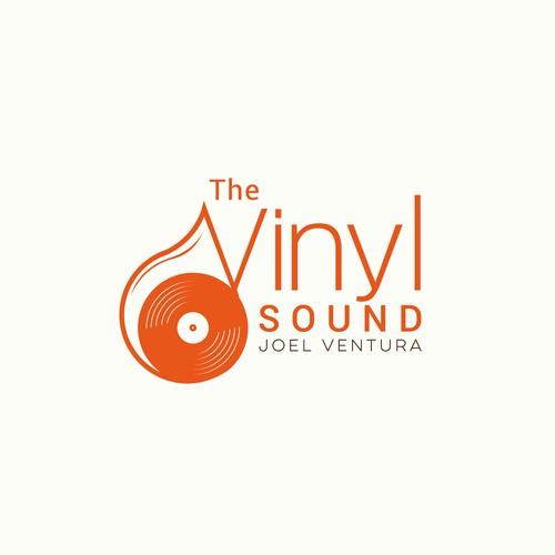 The Vinyl Sound Logo and Lettering (Music Artist)