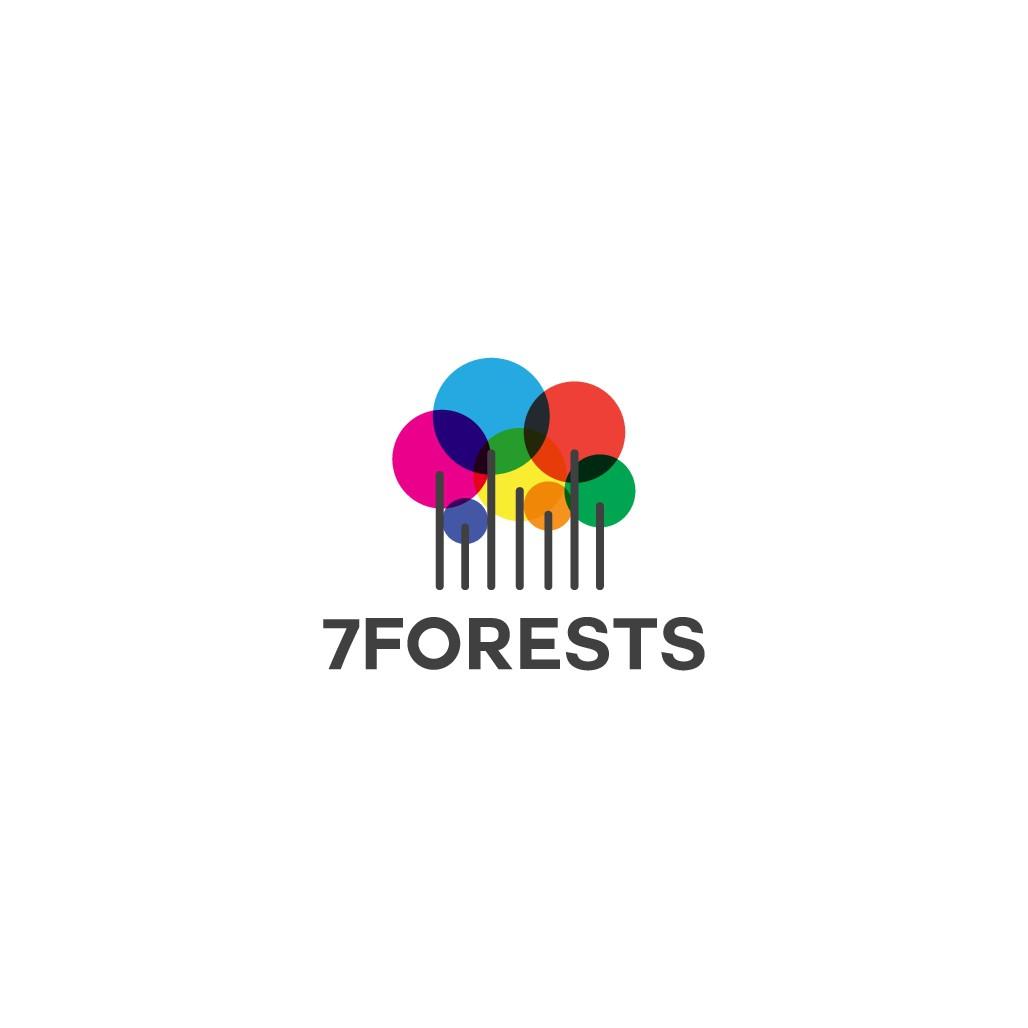 Minimalist, playful logo for programming school