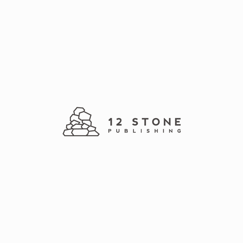 Minimal Logo for 12 Stone Publishing