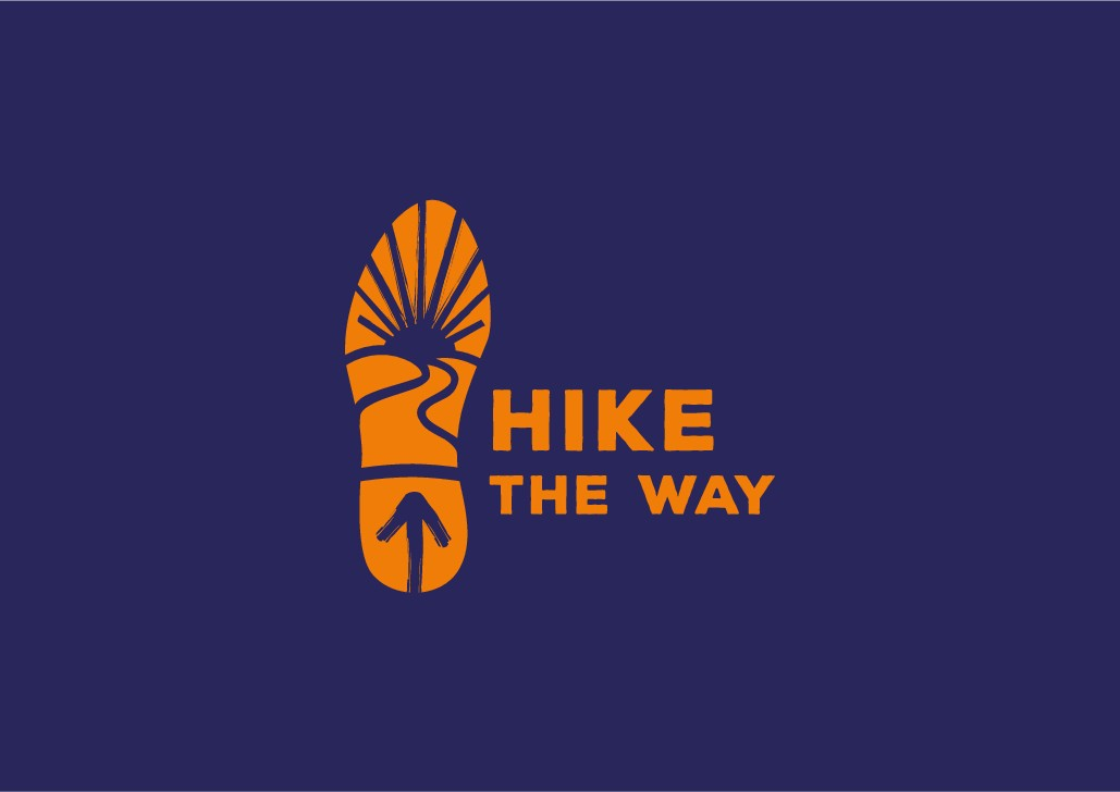 Show your sense of adventure on Hike the Way's new logo