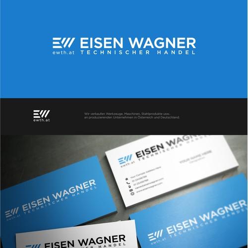 Simple logo design for Eisen Wagner.