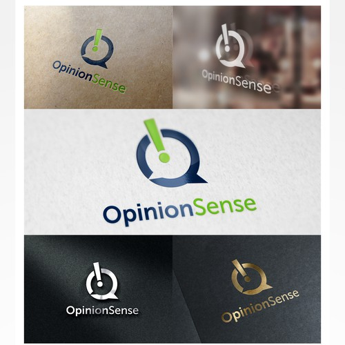 Logo design for public opinion and media analytics website.