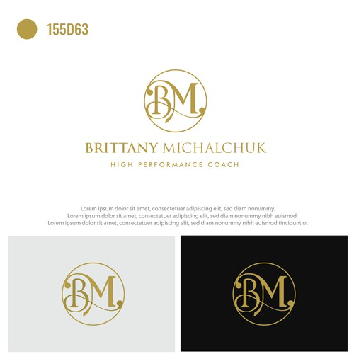 Logo concept for business coach