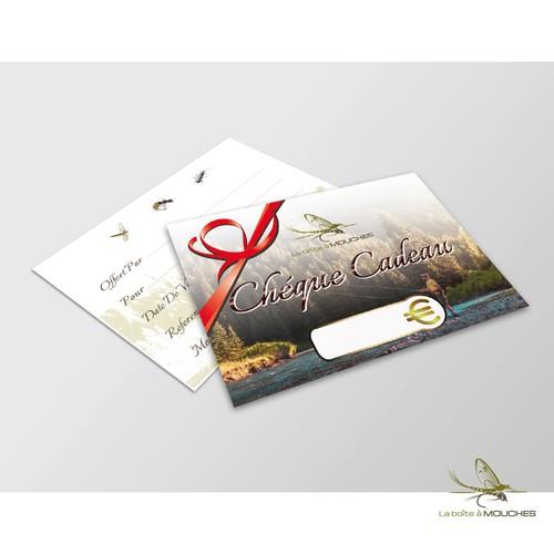 Gift certificate for La Boite a Mouches