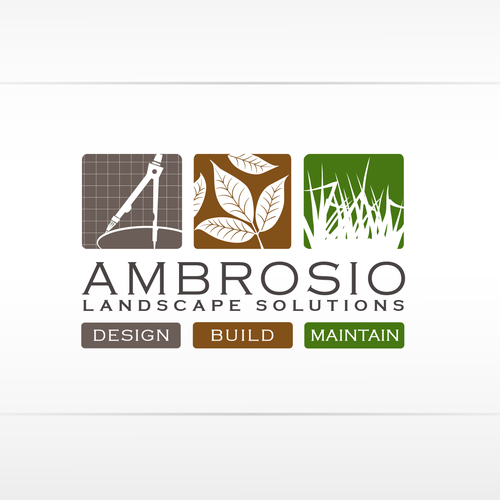 logo for Ambrosio Landscape Solutions