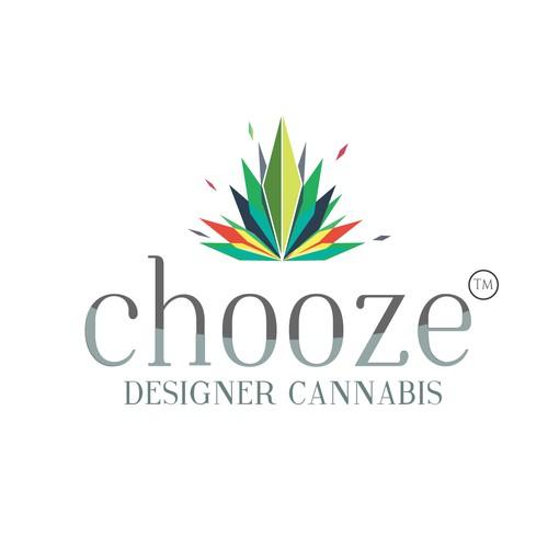 Marijuana logo concept