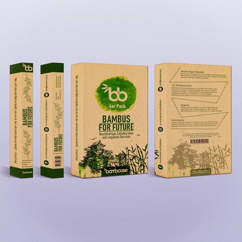 bamboo toothbrush pack