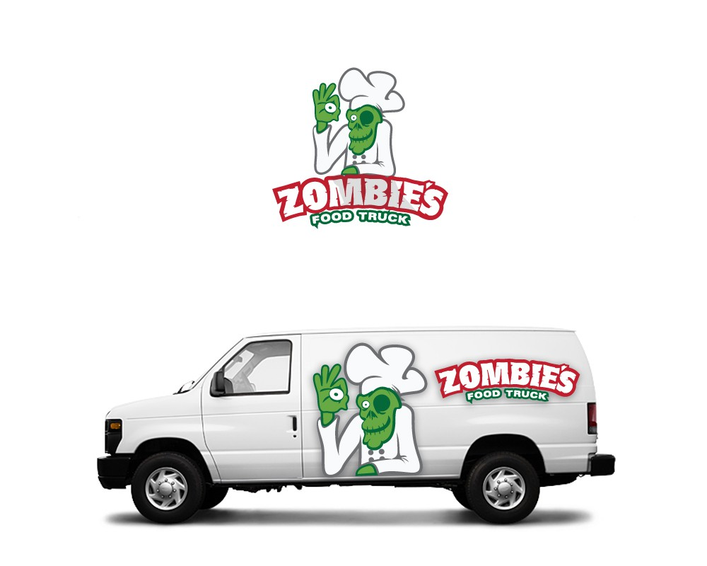 Create the next logo for Zombie's Food Truck