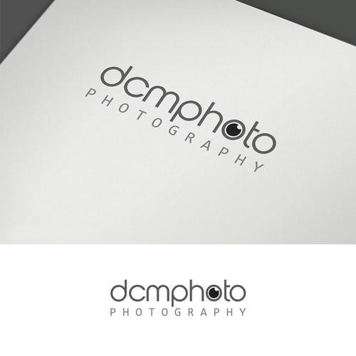 Create a bold and simple design for new photographer