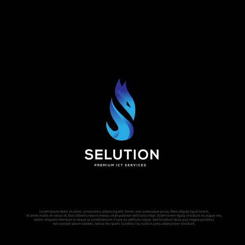 logo concept for selution