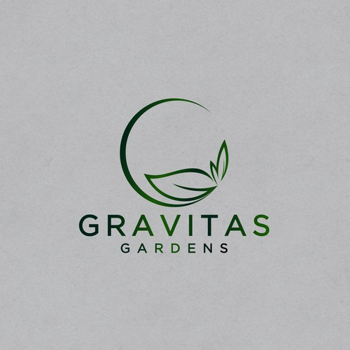 Gravitas Garden - Logo design for Mr. jamesMU