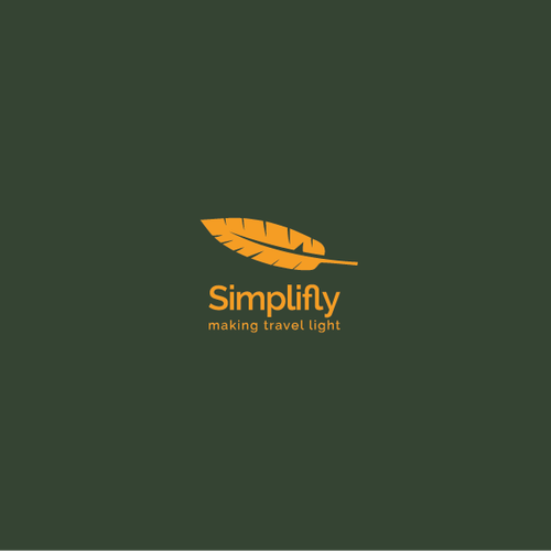 Create a capturing and modern logo for Simplifly.