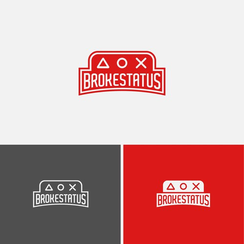 Minimal Logo Design For Gaming