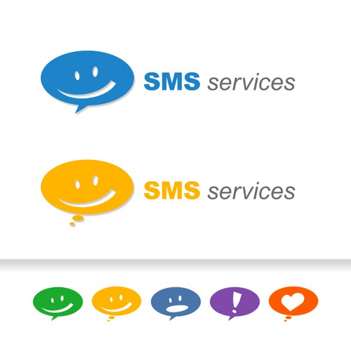 Web site & logo design for a SMS / MMS messaging service