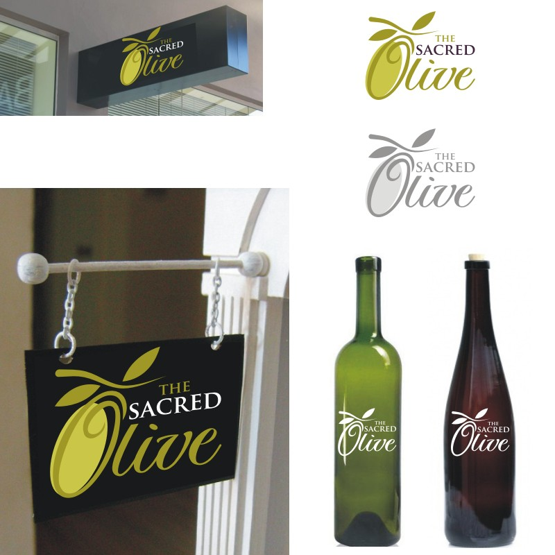 Help The Sacred Olive with a new logo