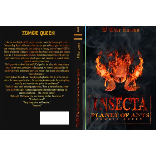 Book Cover: MG/YA fantasy adventure novel (Insecta: Planet of the Ants)
