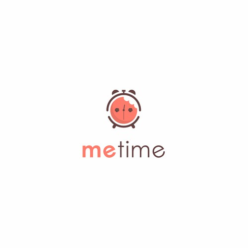 design a modern logo for snack company named Me Time