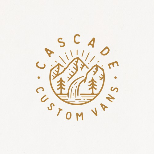Logo for Cascade Custom Vans