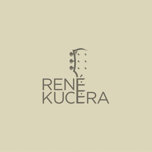 Logo for René Kucera, Guitarist
