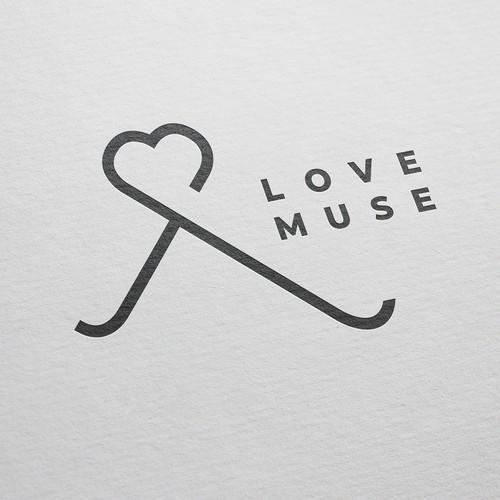 Love Muse Korean Influenced Fashionable and Evergreen Logo Design 1