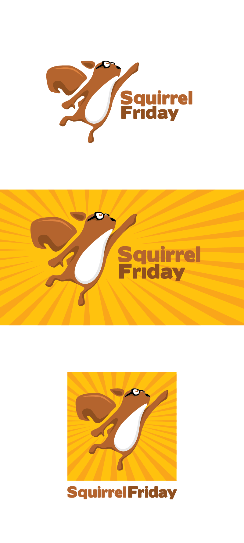 Design my social networking and website logo for SquirrelFriday! Let's do this!