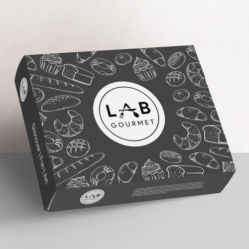 Gourmet delivery box