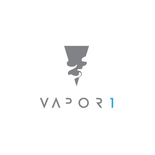 Vapor 1 Logo Concept