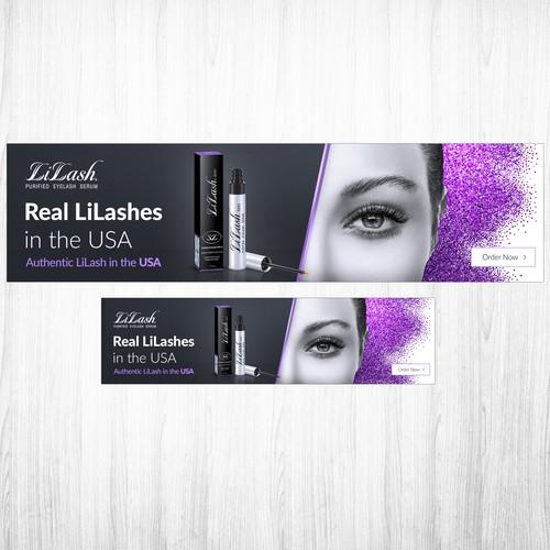 Lilash banner ads