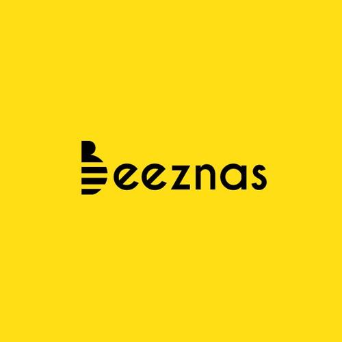 Bee logo concept