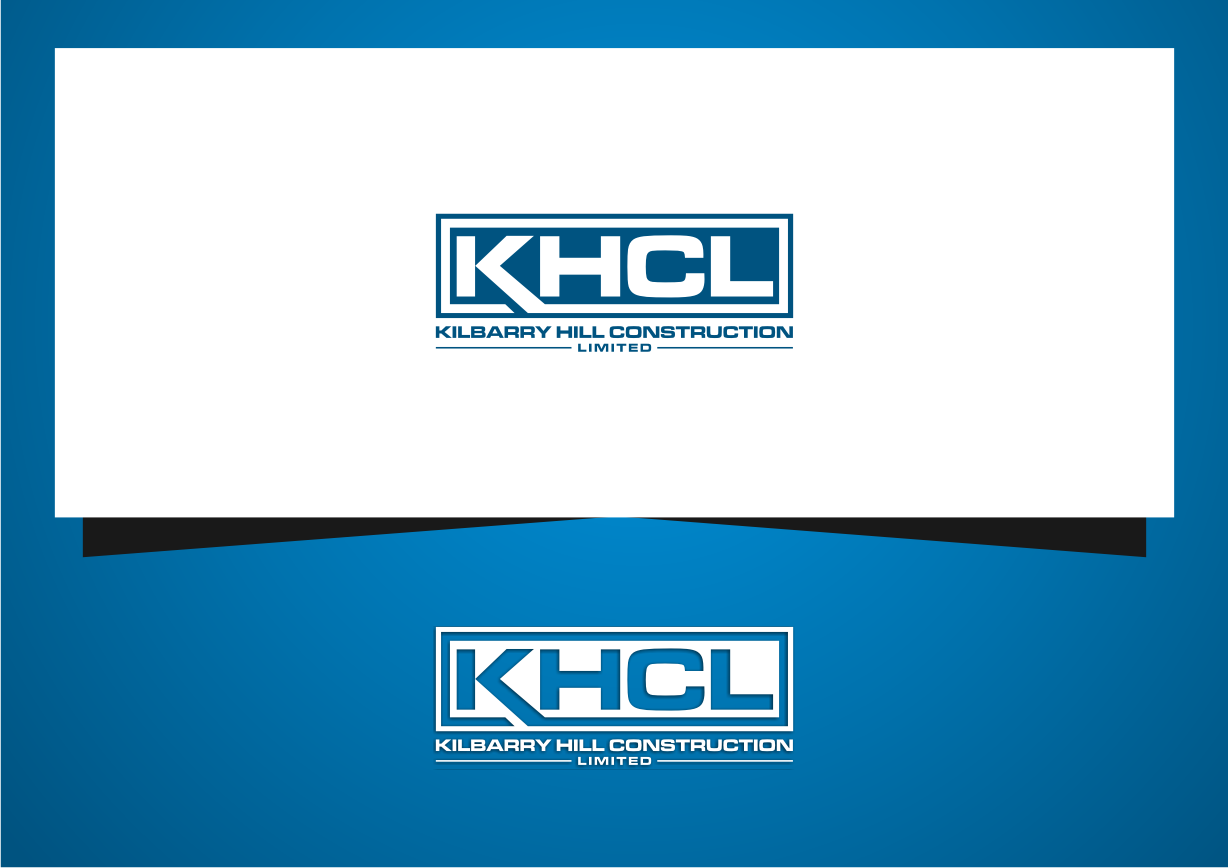 Help KHCL- Kilbarry Hill Construction Limited with a new logo