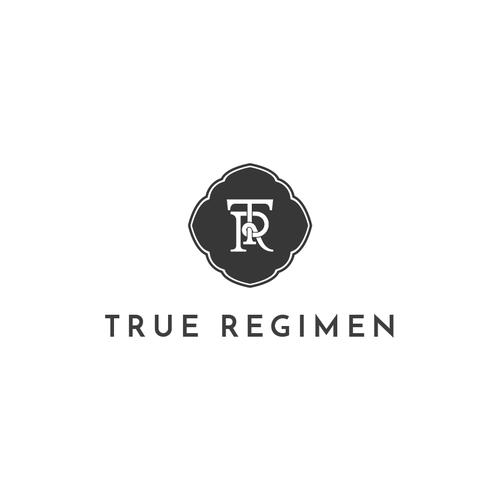 Logo concept for True Regimen