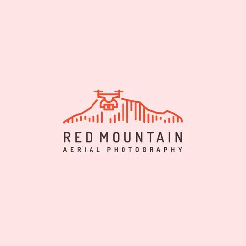 Minimal Drone Photography Logo