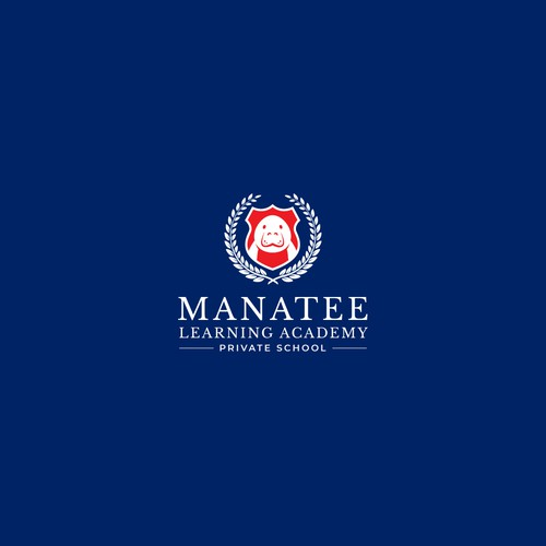 Logo Design for Manatee Learning Academy