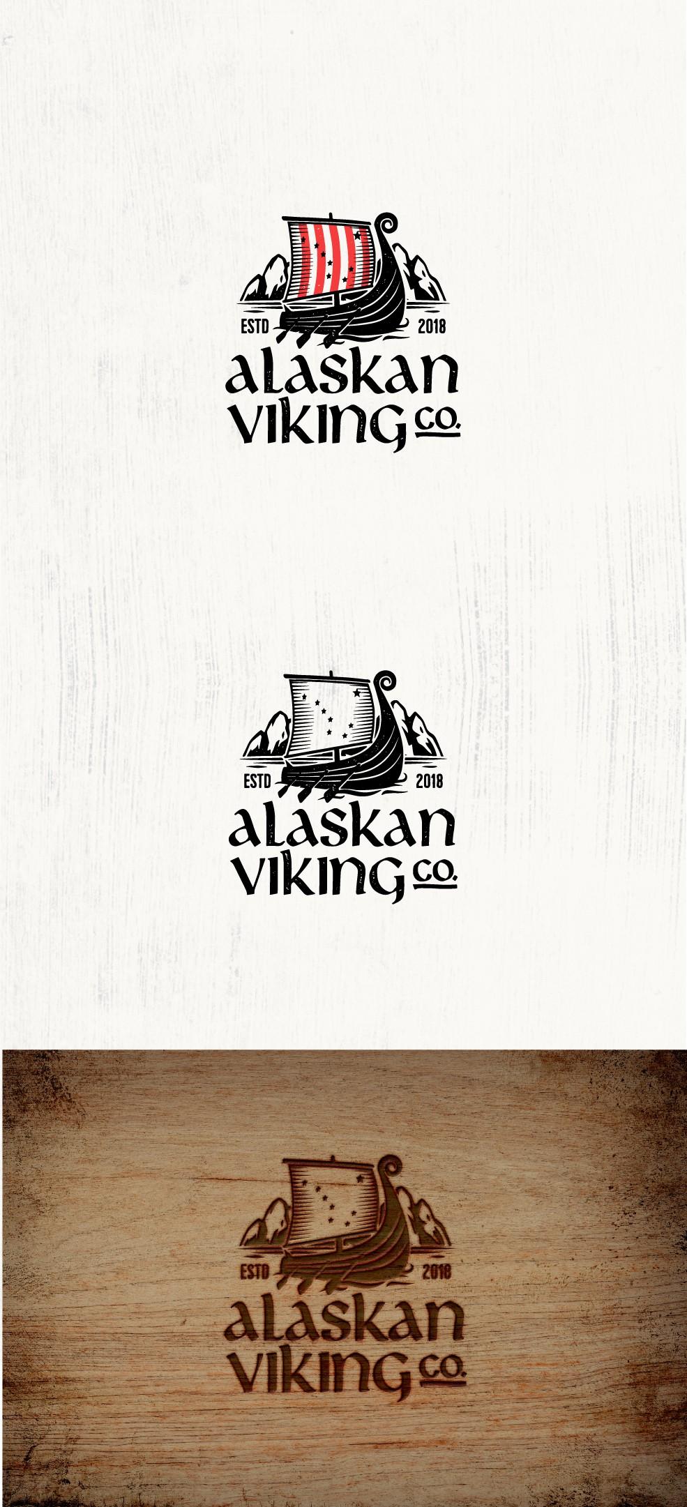 Help an ALASKAN VIKING on a Saga to find his LOGO.