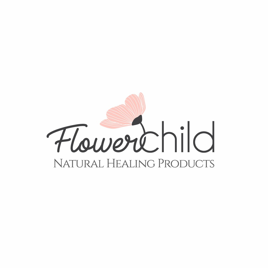 Handcrafted Logo for Flower Child Natural Healing Products!