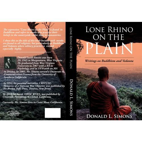 Lone Rhino on the Plane