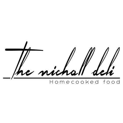 Logo and Branding forThe Nicholl Deli