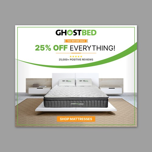 Ghostbed Ad