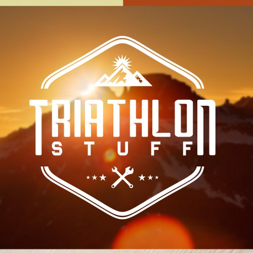 Triathlon logo for sexy state of the art online shop